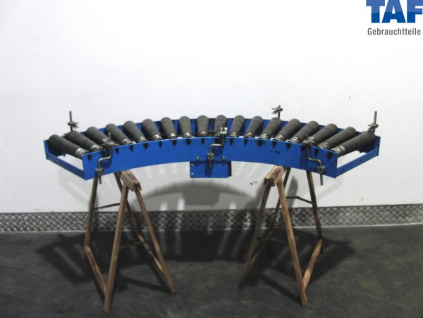 Gebrauchte Rollenbahnkurve 90° - angetrieben