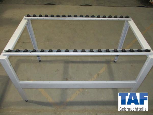 Rolltisch für Industriekisten