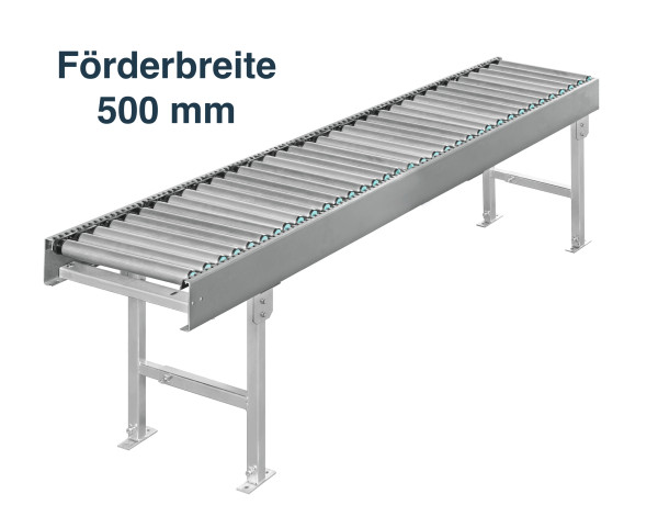 Rollenbahn 24V - Förderbreite 500 mm