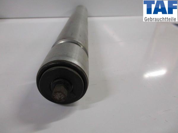 Tragrolle mit Doppelsicke 6-Kant Federachse Stahl