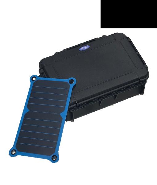 TAF Case 104 mit USB Solar Ladegerät