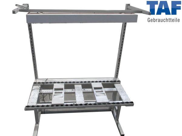 Roll-Arbeitstisch für Industriekisten