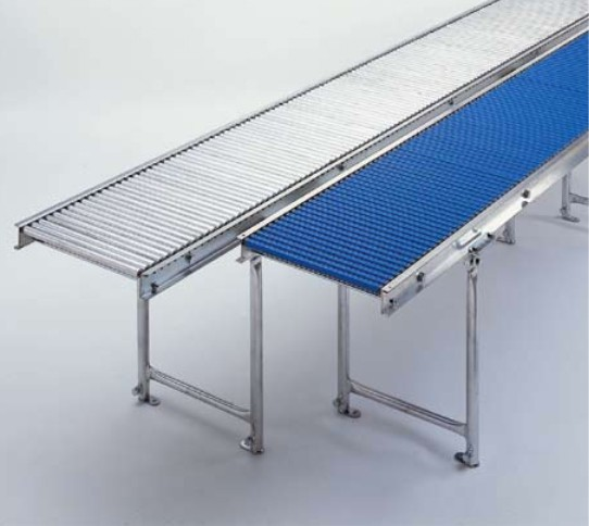 Kleinrollenbahn Stahl 1,0 m - Teilung 25