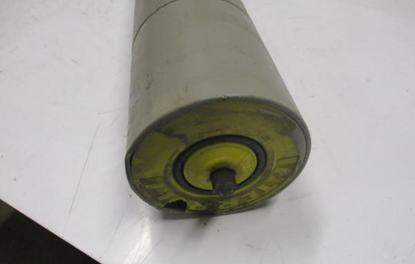 Interroll, Kurventragrolle, Kunststoff - 6 Kant Federachse mit 1 Sicke