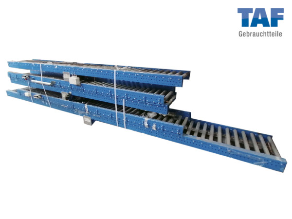 Gebrauchte Rollenbahn mit Motor - 38.000 mm
