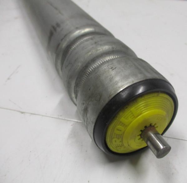 Tragrolle, Stahl mit Doppelsicke 8 mm Rundachse