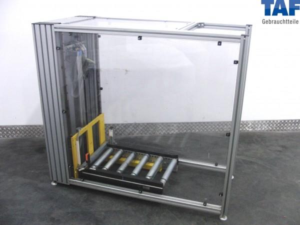 Gebrauchter Senkrechtförderer für Rollenbahn 1.450 mm