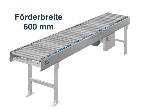 Rollenbahn Getriebemotor - Förderbreite 600 mm