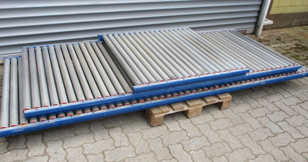 Gebrauchte Leichtrollenbahn - 6.600 mm