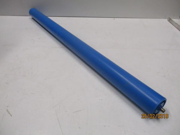 Tragrolle, Kunststoffrolle - Feder - Rundachse 8 mm