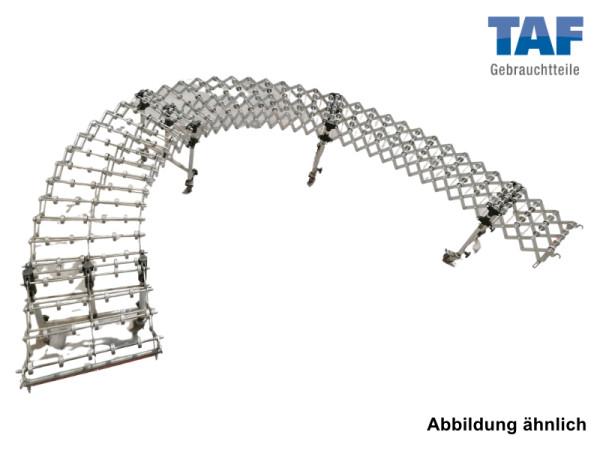 Gebrauchte Scherenröllchenbahn, 2.200 - 8.000 mm