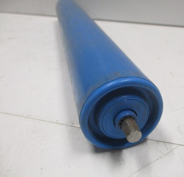 Tragrolle Kunststoff mit Federachse - 8mm